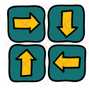 Directions Sign Arrow Icon