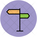 Directions Signpost Direction Icon