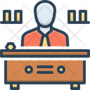 Director Manager Warden Icon