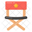 Chair Director Chair Camping Chair Icon