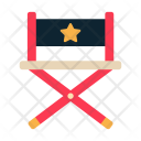 Director Chair Furniture Icon