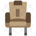 Director Chair Frontal View Icon