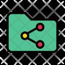 Folder Archive Sharing Icon