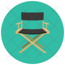 Directors Chair Seat Icon