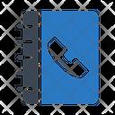 Directory Phonebook Contactus Icon
