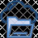 Cloud Storage Directory Icon