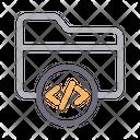 Coding File Folder Icon