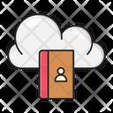 Directory Contactbook Cloud Icon