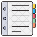 Directory Phonebook Records Icon