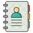 Directory Phonebook Contacts Icon