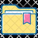 Directory Folder Tape Icon