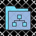 Directory File Organize Archive Icon