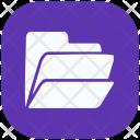 Directory Office Document Folder Data Icon