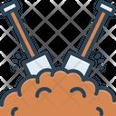 Dirt Filth Shovel Icon