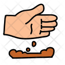 Dirty Hand Dirt Icon