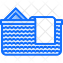 Dirty Clothes Basket Icon