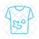 Dirty Clothing Shirt Icon