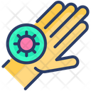 Dirty Hand Disease Icon