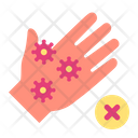 Hand Unsafe Dirty Icon