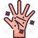 Dirty Hand Virus Icon