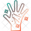 Dirty Hand Dirty Gesturing Washing Icon