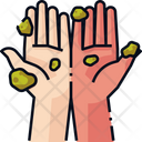 Wash Hands Dirty Hands Hygiene Icon