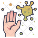 Disease Hand Health Icon