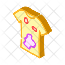 Dirty T Shirt Clothes Icon