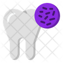 Dirty Tooth Bacteria Cavity Icon