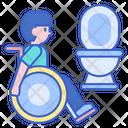 Disability Toilet Icon