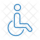 Disable Accessible Toilet Icon