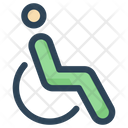 Disable Person Chair Icon