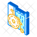 Disabled Voting Booth Icon
