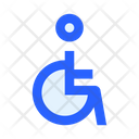 Human People Disabled Icon