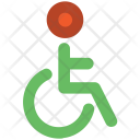 Disabled Handicap Wheelchair Icon