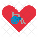 Disabled Charity Foundation Icon
