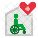 Hospice Charity Home Icon