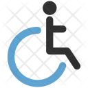 Disabled Man Icon