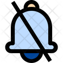 Disabled Bell Alarm Icon