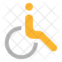 Disabled Person Wheelchair Icon