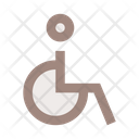 Person Disabled Wheelchair Icon