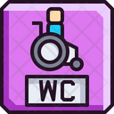 Disabled Handicap Wheelchir Physical Disability Icon