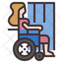 Disabled Woman Icon