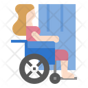 Disabled Woman Disabled Handicap Icon