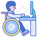 Disabled Worker Disabled Employee Employee Icon