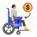 Disablement benefit Icon