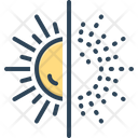 Disappear Sun Disappearance Icon