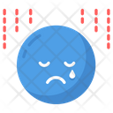 Disappointed Stess Mood Icon