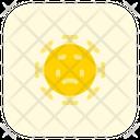 Disappointed Coronavirus Emoji Coronavirus Icon