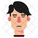 Disappointed Boy Sad Guilty Icon